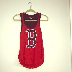 Boston Red Sox MLB Baseball Racerback Tank XS